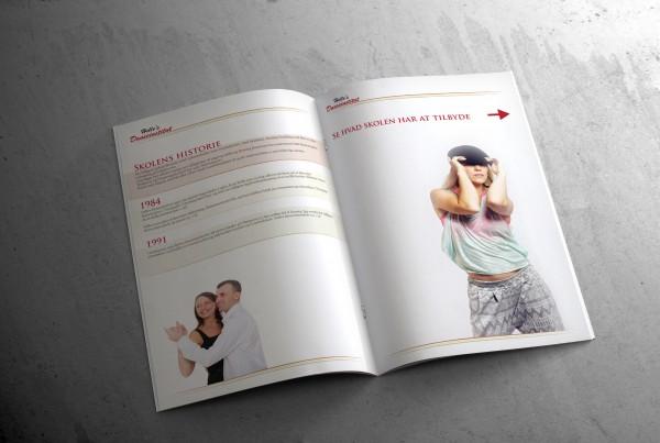 Helles Danseinstitut brochure