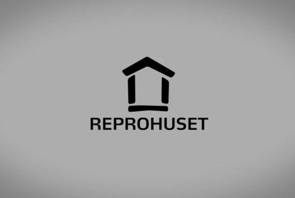 Reprohuset logo animation