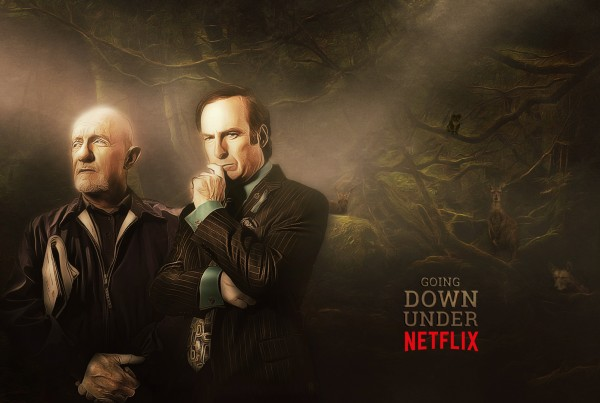 Grafisk Design - Netflix Down Under