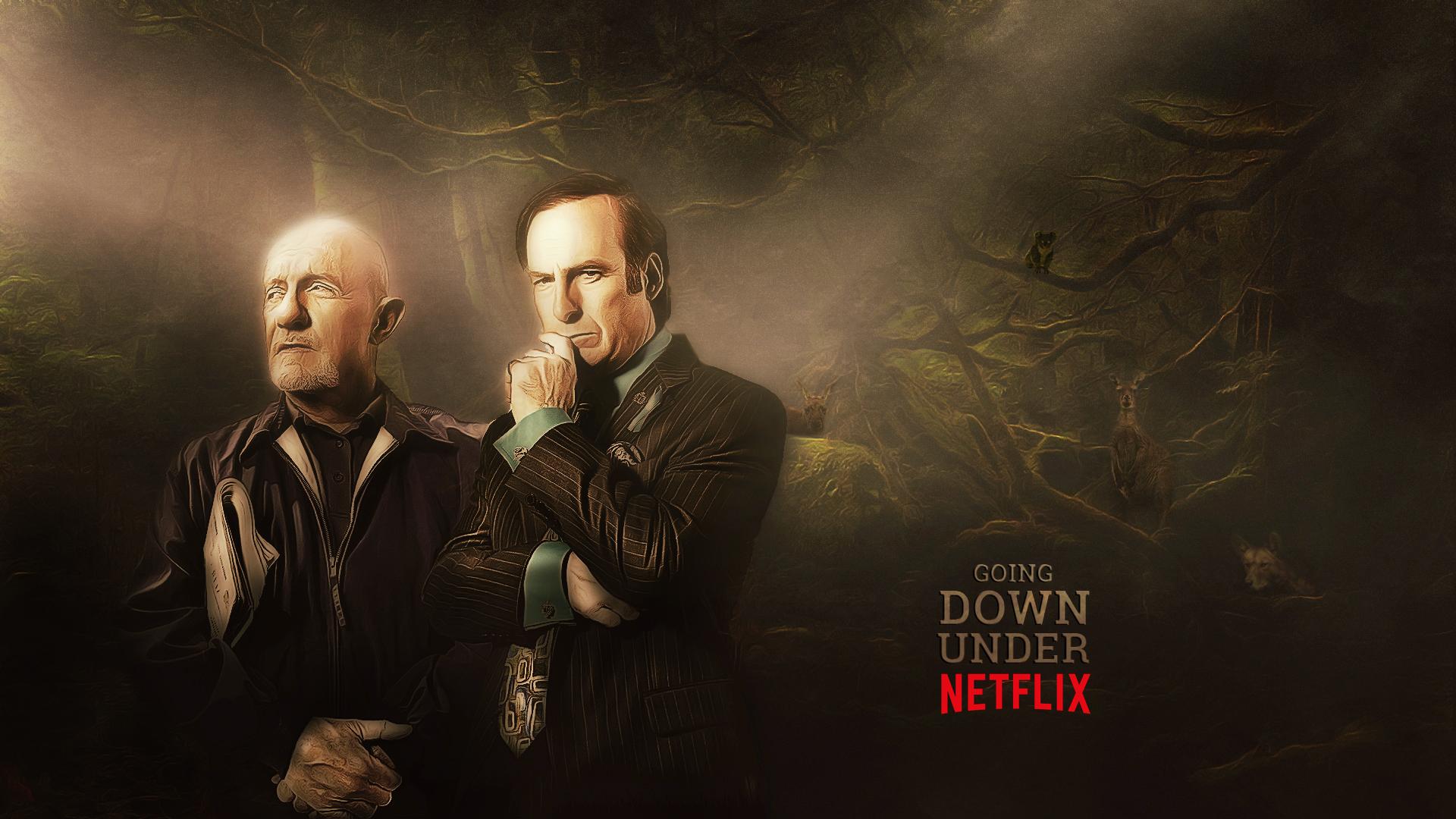 Netflix down under poster